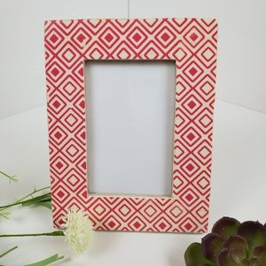 Pier 1 geometric tiled 4x6 picture frame